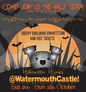 Halloween at Watermouth